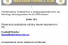Under 18's Coach Wanted